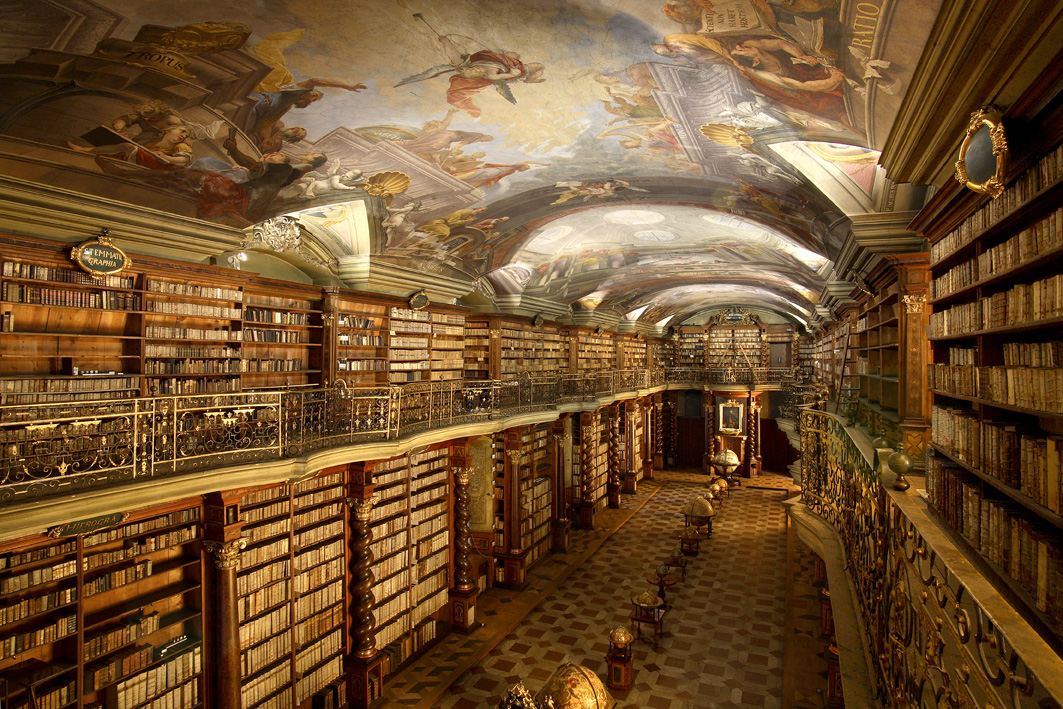 206 Best Nooks Images On Pinterest: Baroque Library